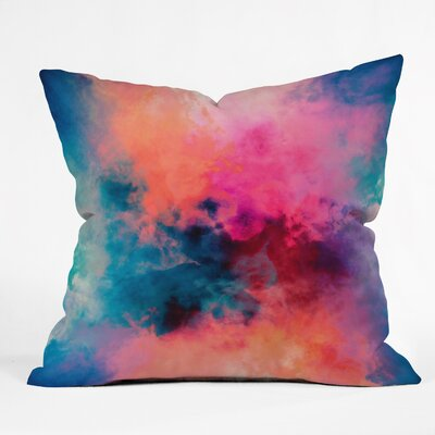 Caleb Troy Temperature Throw Pillow Size: 26 H x 26 W x 7 D