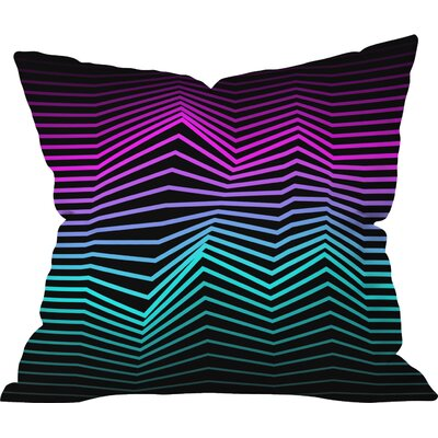 Three of the Possessed Miami Nights Indoor Throw Pillow Size: 20 H x 20 W x 6 D