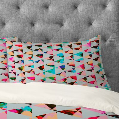 Caleb Troy Indie Mute Pillowcase Size: King