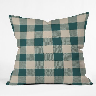 Cozy Woods Plaid Indoor/Outdoor Throw Pillow Size: Medium