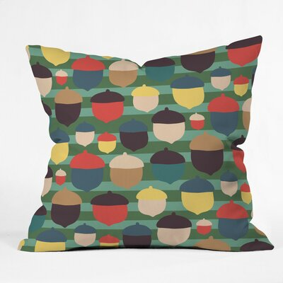 Zoe Wodarz Gather 2 Together Polyester Throw Pillow Size: 18 H x 18 W x 5 D