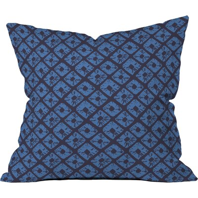Deep Seas Polyester Throw Pillow Size: 18 H x 18 W x 5 D