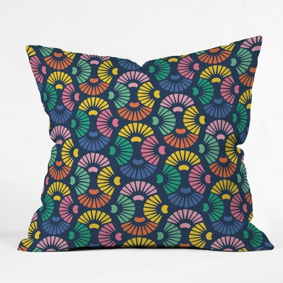 Sea Shells Polyester Throw Pillow Size: 16 H x 16 W x 4 D