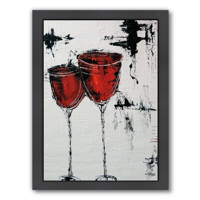 'Vino 110' Framed Painting Print