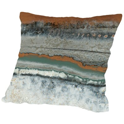 Copper Mine Throw Pillow Size: 16 H x 16 W x 2 D