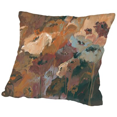 Like a Dream Throw Pillow Size: 14