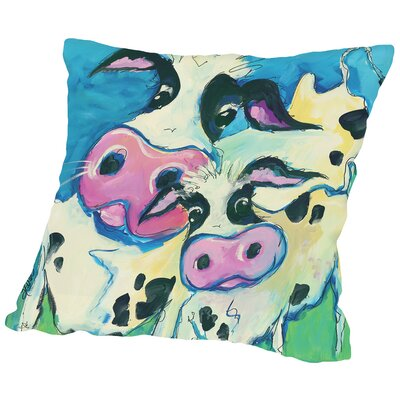 Watchful Eye Throw Pillow Size: 18 H x 18 W x 2 D