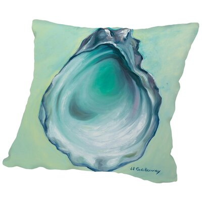 Oyster Throw Pillow Size: 20 H x 20 W x 2 D