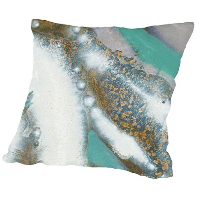 Marble B Throw Pillow Size: 14 H x 14 W x 2 D