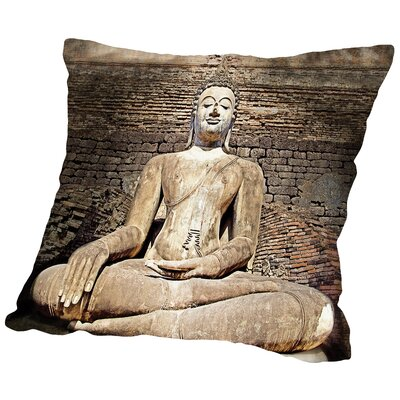 Way to Freedom Throw Pillow Size: 16 H x 16 W x 2 D