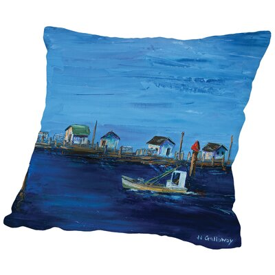 Returning Fleet Throw Pillow Size: 14 H x 14 W x 2 D