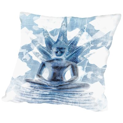 Gautama Buddha II Throw Pillow Size: 14 H x 14 W x 2 D
