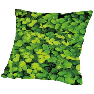 Jardim Botanico II Throw Pillow Size: 16 H x 16 W x 2 D