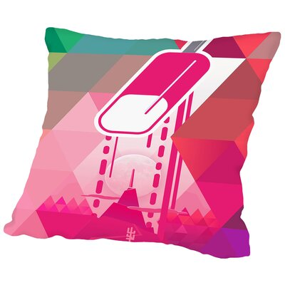 Popsicle Throw Pillow Size: 14 H x 14 W x 2 D