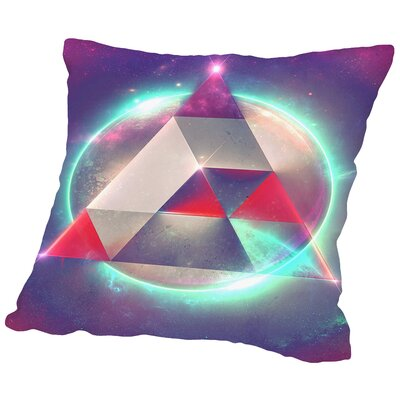 Try 4 Throw Pillow Size: 16 H x 16 W x 2 D