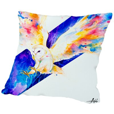 Hector (c) Marc Allante Throw Pillow Size: 14 H x 14 W x 2 D
