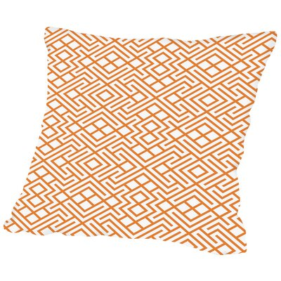 Modern Geometric Throw Pillow Size: 18 H x 18 W x 2 D