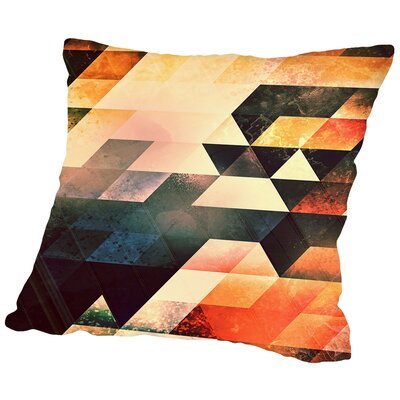 Styck Throw Pillow Size: 18 H x 18 W x 2 D