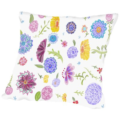 Spring Dance Throw Pillow Size: 16 H x 16 W x 2 D
