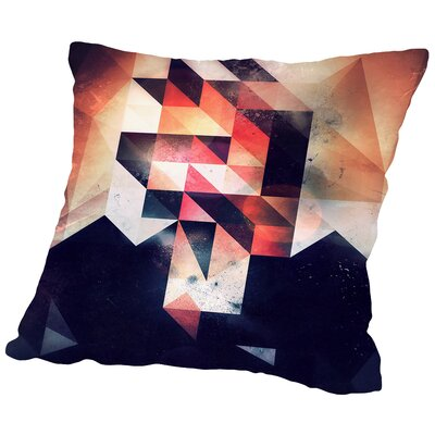 Mystyr Hyyd Throw Pillow Size: 16 H x 16 W x 2 D