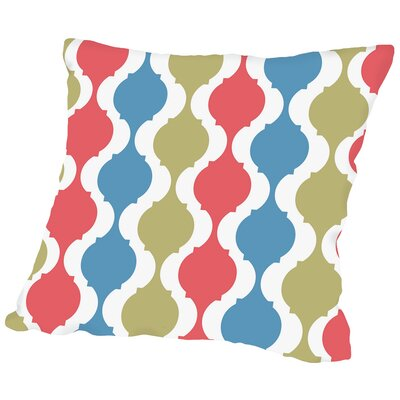 Serpentine Throw Pillow Size: 18 H x 18 W x 2 D
