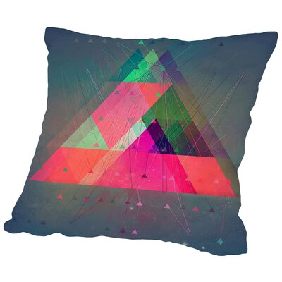 Try 8 Throw Pillow Size: 18 H x 18 W x 2 D