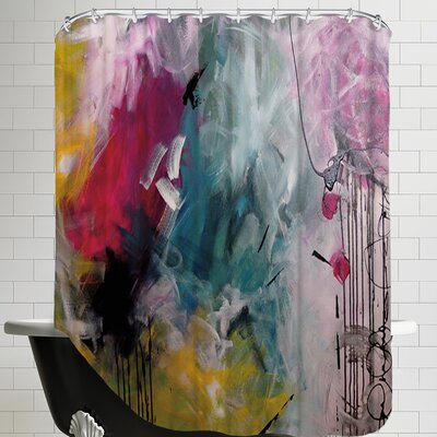 Crazy Fin Shower Curtain
