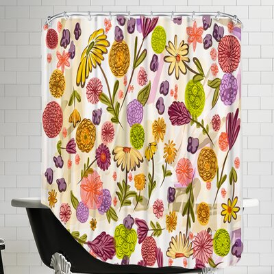 Sept Garden Shower Curtain