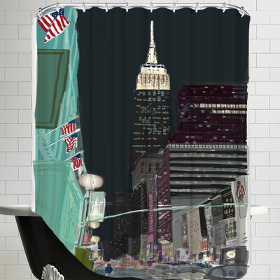 Ny 6 Shower Curtain