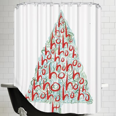 Ho Ho Ho 3 Shower Curtain