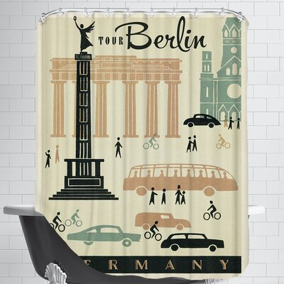 WT Berlin MOD Shower Curtain