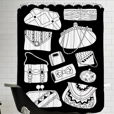 Pocketbooks Shower Curtain