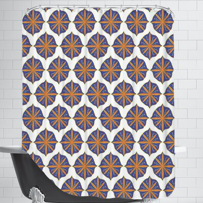 SpanishMotif CaraKozik Shower Curtain