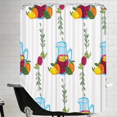 SangriaVine CaraKozik Shower Curtain