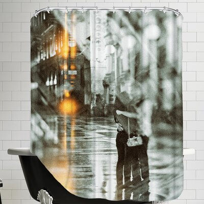Romance In The Rain Shower Curtain