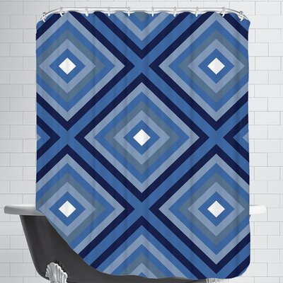 Indigo Shower Curtain
