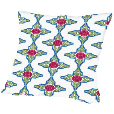 SangriaRose CaraKozik Throw Pillow Size: 16 H x 16 W x 2 D