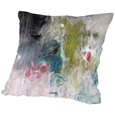 Crazy Kaki Throw Pillow Size: 18 H x 18 W x 2 D