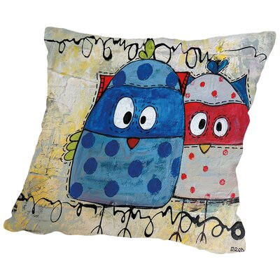Kidsz 22 Throw Pillow Size: 16 H x 16 W x 2 D