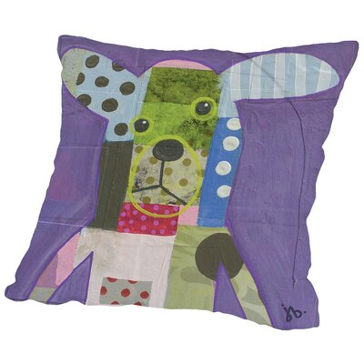 Dog (1) Throw Pillow Size: 18 H x 18 W x 2 D