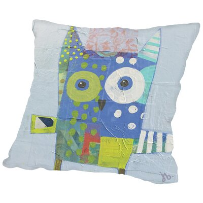 Owl Throw Pillow Size: 20 H x 20 W x 2 D