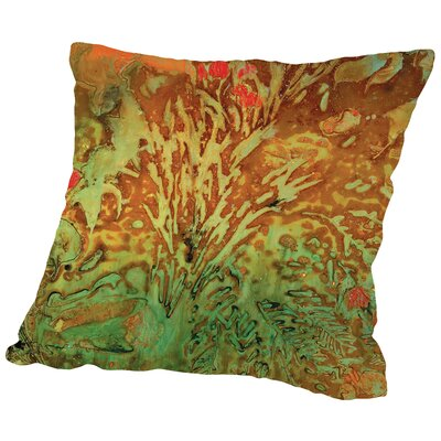 Midori - B Throw Pillow Size: 18 H x 18 W x 2 D