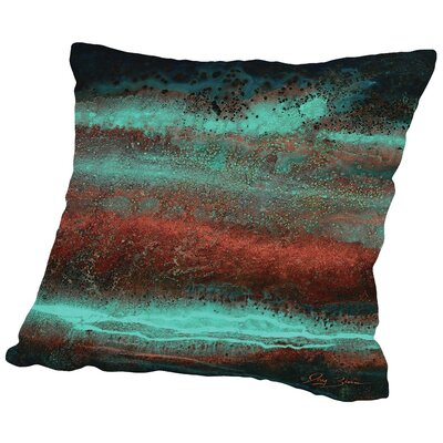 Electric Throw Pillow Size: 18 H x 18 W x 2 D