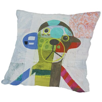 Monkey Throw Pillow Size: 18 H x 18 W x 2 D