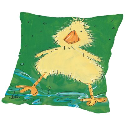 Duckling II Throw Pillow Size: 18 H x 18 W x 2 D