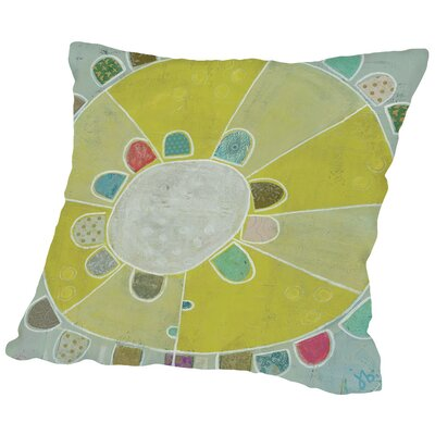 Flower Inside a Flower I Throw Pillow Size: 18 H x 18 W x 2 D