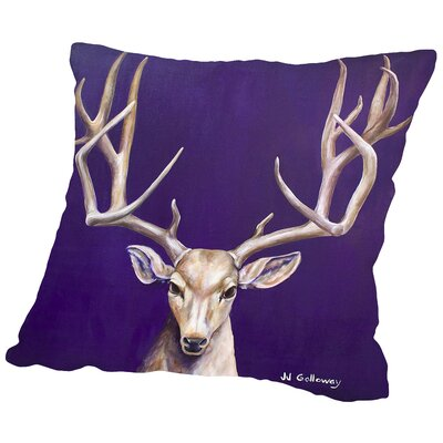 I See You 1 Throw Pillow Size: 18 H x 18 W x 2 D