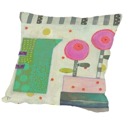 Summer Table Throw Pillow Size: 16 H x 16 W x 2 D