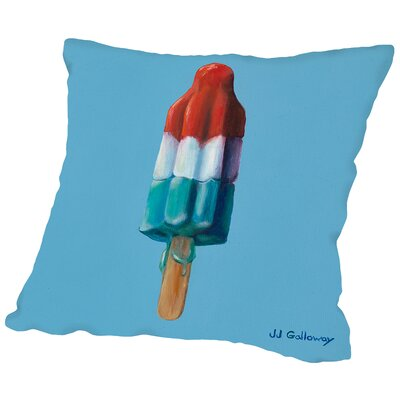 Rocket Pop 2 Throw Pillow Size: 18 H x 18 W x 2 D