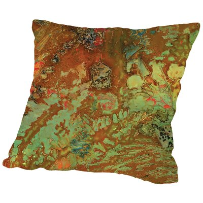 Midori - A Throw Pillow Size: 14 H x 14 W x 2 D